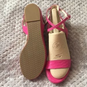 New Michael Kors Kaylee Flat Open toe Sandals Pink